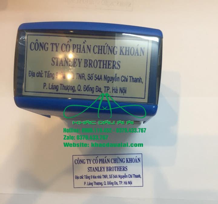 Khắc dấu địa chỉ công ty chất lượng, uy tín tại TPHCM